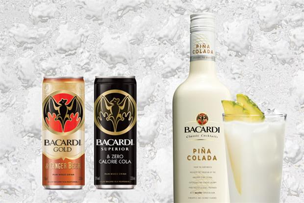 """bacardi marketing mix Bacardi is targeting the shot market with the launch of a new cinnamon-flavoured spiced rum """"spirit drink"""" – bacardi carta fuego new release is made from rum aged for a minimum of one year in torched oak barrels, before its passed through charcoal and mixed with a secret blend of flavours and spices."""