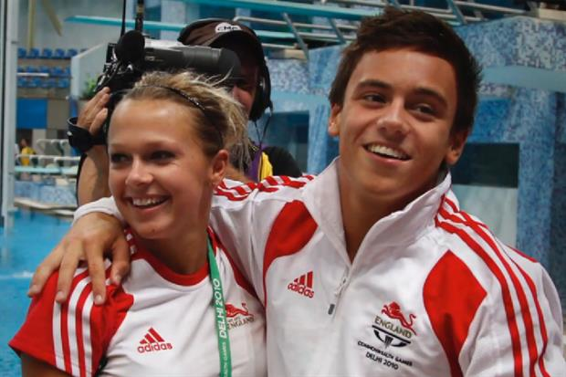 Tom Daley: represents 'inclusive and diverse' England brand