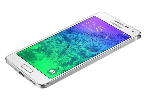 Samsung's new Galaxy Alpha smartphone