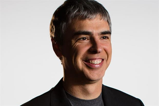 Larry Page: Google's chief executive officer