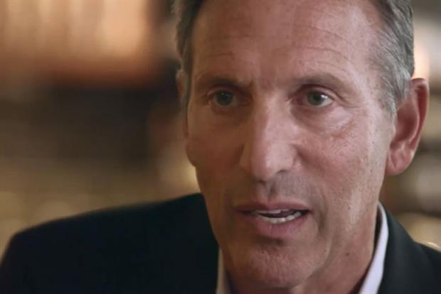 Howard Schultz: Starbucks' chief executive