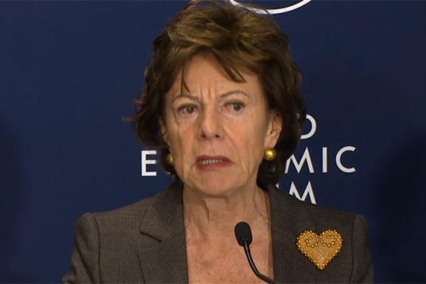 Neelie Kroes: vice-president of the European Commission