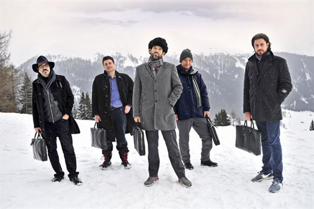 Louis Vuitton: luxury brand chooses Davos men as its latest brand ambassadors