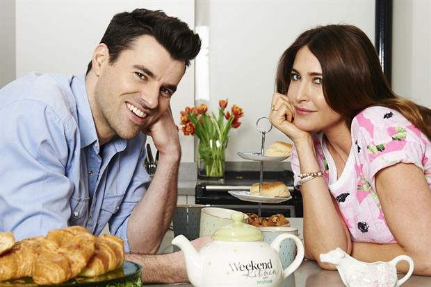 Steve Jones and Lisa Snowdon: hosts of 'Weekend Kitchen with Waitrose'