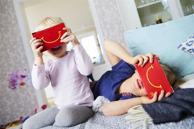 McDonald's Happy Meal Boxes Transform Into VR Headsets