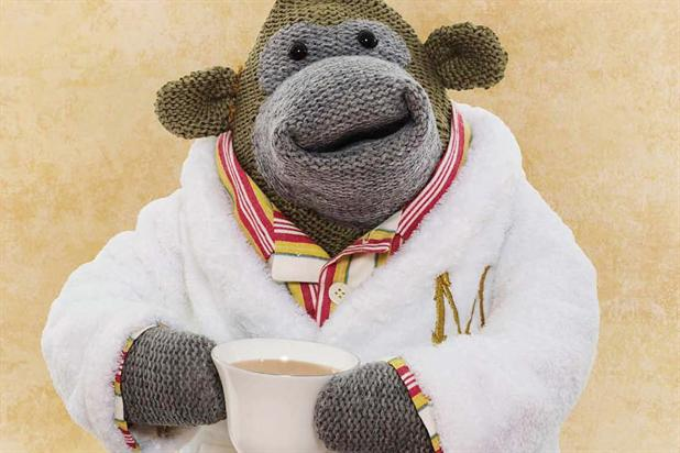 PG Tips: the tea brand's Monkey character