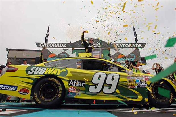 Subway: already sponsors a Nascar race, team and driver
