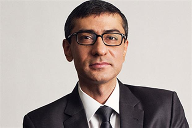 Rajeev Suri: named as incoming president and chief executive of Nokia