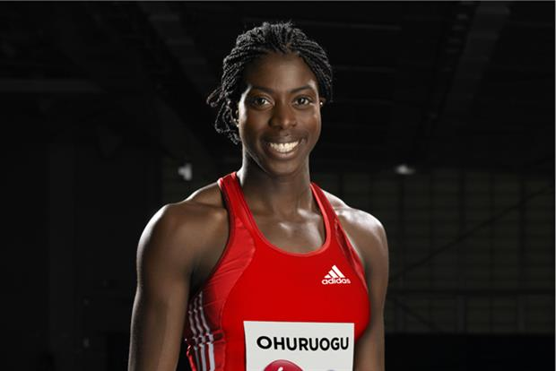 Christine Ohuruogu: recruited by Virgin Media