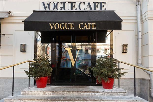 The Vogue Cafe: Condé Nast restaurant in Moscow