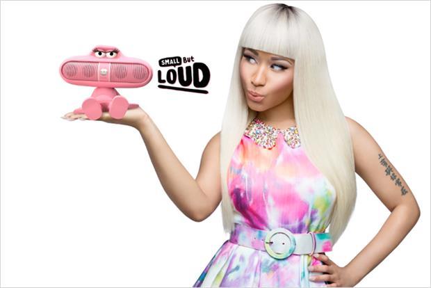 Nicki Minaj: stars in Beats Pill campaign