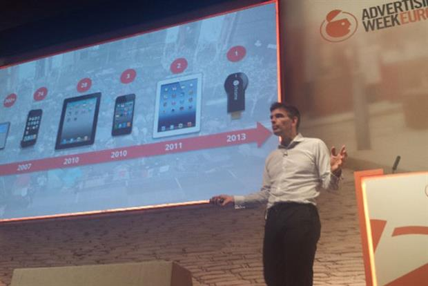 Matt Brittin: Google ececutive talks ambition at Advertising Week Europe