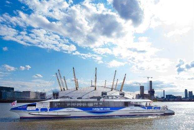 Thames Clippers: teams up with MBNA to boost its offering to customers