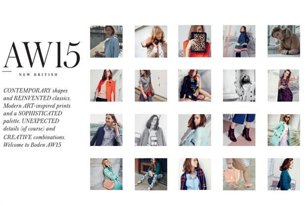 Boden embraces visual economy with digital drive by nickykc for Boden new british katalog