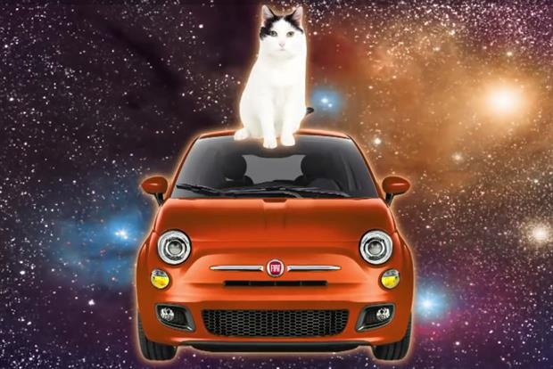 Fiat: weirdness reigns in ads for Fiat 500