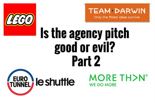 Watch is the agency pitch good or evil part 2 for Advertising agency pitch