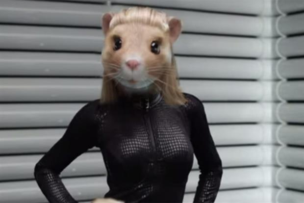 Kia: shapely lady hamsters are a new addition to the ad series
