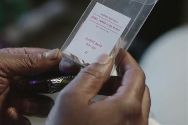 Harvey Nichols: Christmas ad encourages spending on yourself