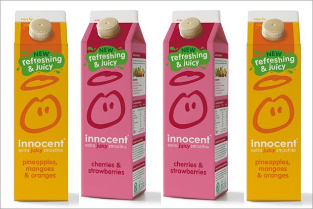 Innocent: unveils its Extra Juicy Smoothie range