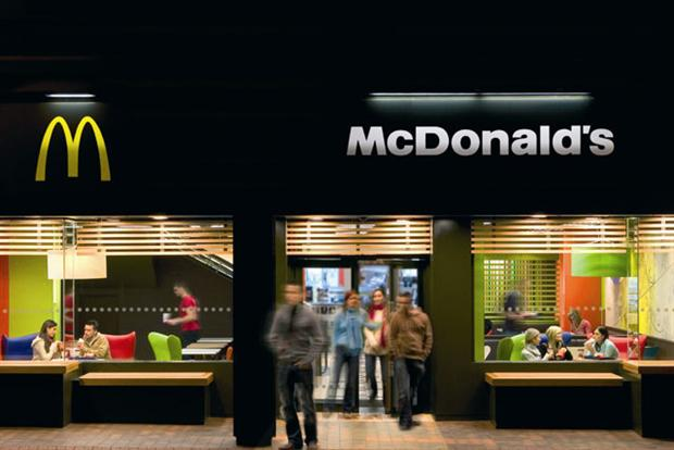 McDonald's: recognised by the Cannes Lions