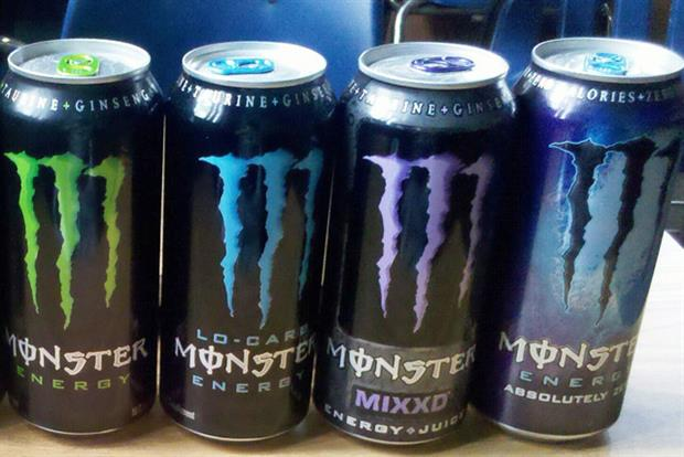 Monster: Coca-Cola acquires a 16.7% stake in the energy drink brand