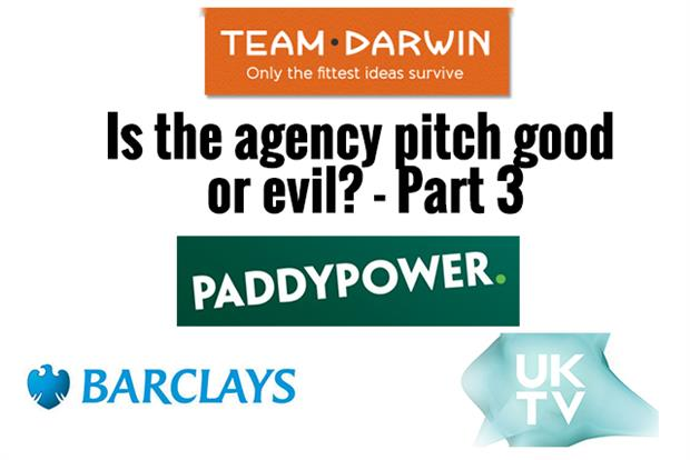 Watch is the agency pitch good or evil part 3 for Advertising agency pitch