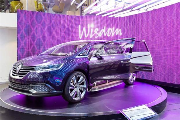 Renault: the Initiale Paris concept car unveiled at the Frankfurt Motorshow