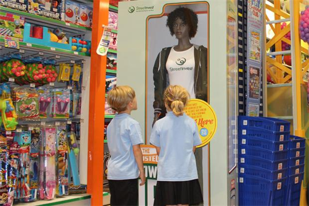 StreetInvest: created life-sized action figure