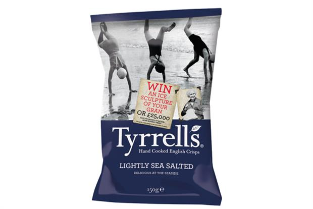 Sculpture of your gran and photo of soil among enticing prizes in Tyrrells on-pack promotion