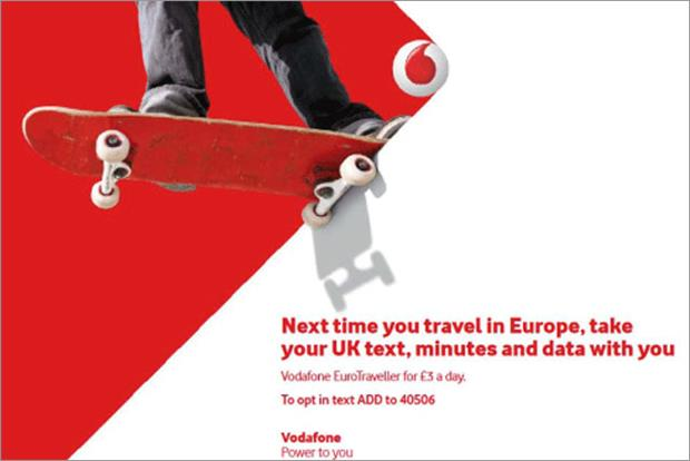 Vodafone: unveils latest Power of Red global identity