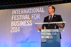 More than 100 events so far confirmed for International Festival of Business