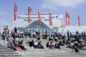 Melville GES will move on site at Excel London
