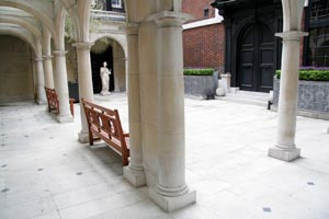 Skinners' Hall Courtyard opens for City workers next week