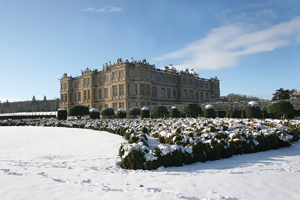 Longleat in the snow