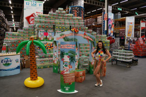 Volvic's nationwide Tropical Tour