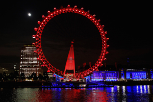 Photo gallery: Red Bull takes over London Eye