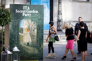 Guests make their way into ITA's Secret Garden