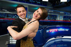 Sky Sports presenters will dance for charity