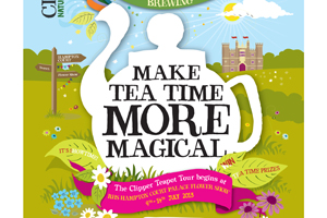Closer takes Clipper Tea magical teapot on tour