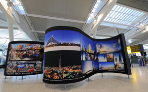 Nokia exhibition opens at Heathrow T5