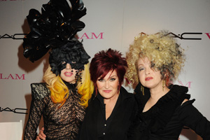 An audience with Lady Gaga and Cyndi Lauper: pics