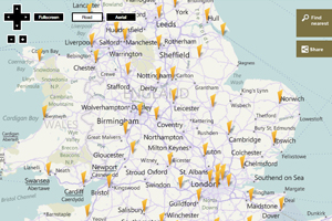 Street-by-street map of Olympic torch route revealed