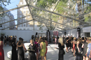 Owen Brown provides temporary structures at Glamour Awards