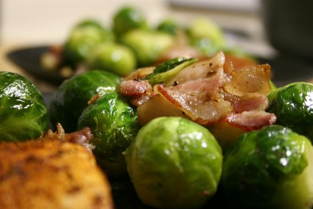 Brussel sprouts with pancetta, honey and orange to spice up your Christmas meal