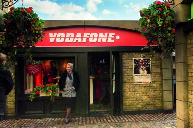 Vodafone celebrated the first mobile phone call made in the UK on its network 30 years ago