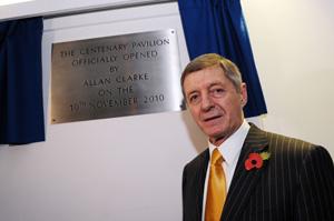 Leeds United legend Allan Clarke opens Centenary Pavilion