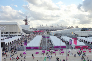 The Olympic basketball arena is up for sale