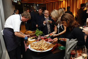 Sodexo celebrates Blue Fin win with party: pics