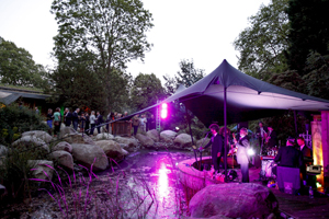 Guests enjoy soundtracks from cult films with Pernod Ricard