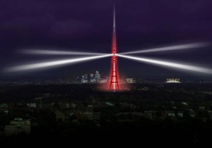 Crystal Palace tower to light up on 18 April